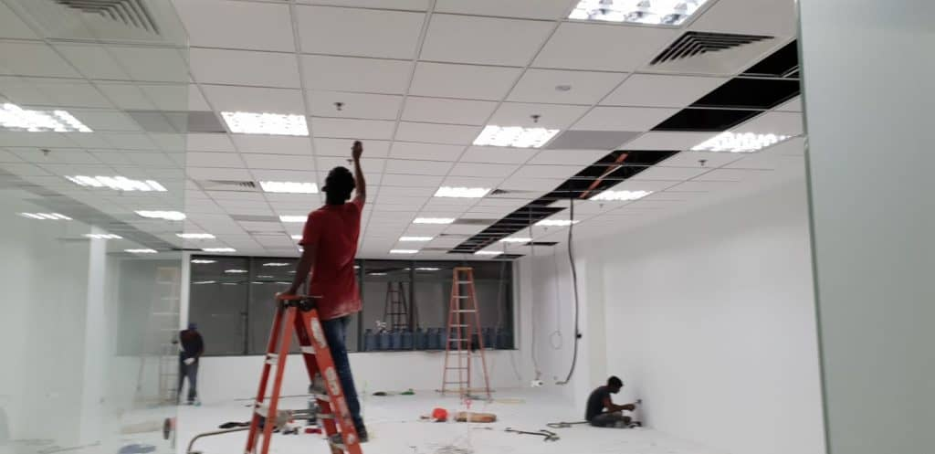 electrical works for office singapore